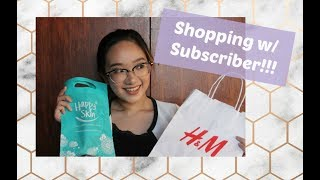 Life Update: Shopping with a Subscriber & Happy Skin Workshop | Philippines