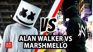 ALAN WALKER VS MARSHMELLO | ¿LA MEJOR MÚSICA ELECTRÓNICA DE ALAN WALKER Y MARSHMELLO?
