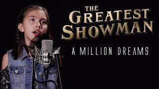 A MILLION DREAMS - The Greatest Showman - Father & Daughter Cover JillianTubeHD ft. DTSings