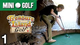 Treasure Island Mini Golf #1 (Holes 1-9) •Myrtle Beach, SC