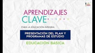Presentación del nuevo plan y programas de estudio 2018