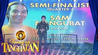 Tawag ng Tanghalan: Sam Mangubat enters the semi-finals!
