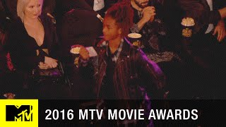 Jaden Smith Turns Up In The Crowd | 2016 MTV Movie Awards