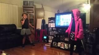 Girls singing talk dirty to me