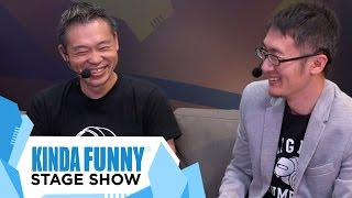 Mega Man Creator Keiji Inafune Interview - Kinda Funny Stage Show E3 2015