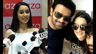 Shraddha Kapoor Reaction On Working With Prabhas  For Saaho
