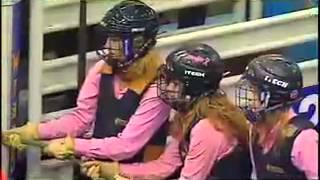 Wild Pony Race at Canadian Finals Rodeo
