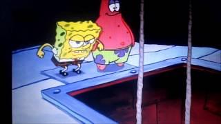 spongebob and patrick getting rope burn