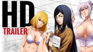 Prison School Trailer (English Dub) HD + Subs CC