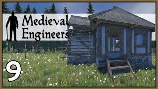 Wooden House - Medieval Engineers Survival Gameplay - Part 9 [Let's Play Medieval Engineers]