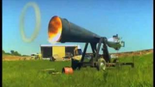 Giant Vortex Cannon