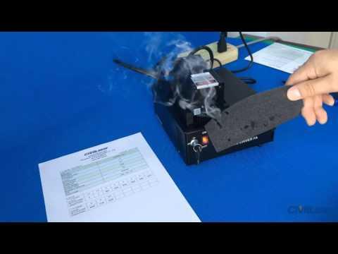 808nm 10W 10000mW IR DPSS Laser invisible laser beam powerful adjustable -- CivilLaser