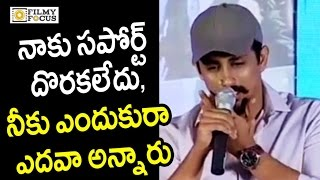Siddharth Emotional Speech about Not Doing Telugu Movies - Filmyfocus.com