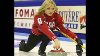 A sexy curling montage