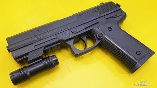 POWERFUL Realistic Toy Gun with Laser Accessories Unboxing   XK-900 Gun Series
