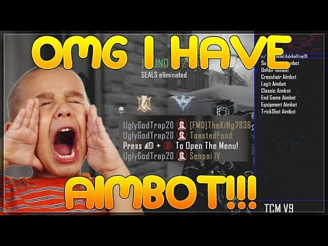 GIVING PEOPLE AIMBOT! BLACK OPS 2 MOD TROLLING XBOX 1 USERS!
