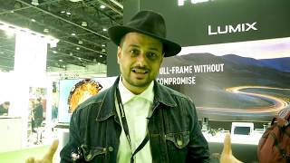 Panasonic at CABSAT 2019 - Lumix S