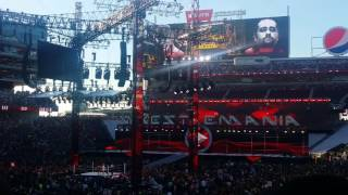 John Cena vs Rusev entrances Wrestlemania 31