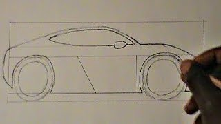 Step-by-Step: Drawing a Car (for beginners)