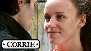 Seb and Faye Kiss and Won't Be Kept Apart - Coronation Street