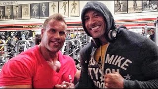 Jay Cutler Arms Workout At Gold's Gym With Dwayne