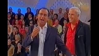 PIPPO CALVO A DOMENICA IN AL 30 SEC. CON CARLO CONTI , CLERICI , WEBER E VENIER