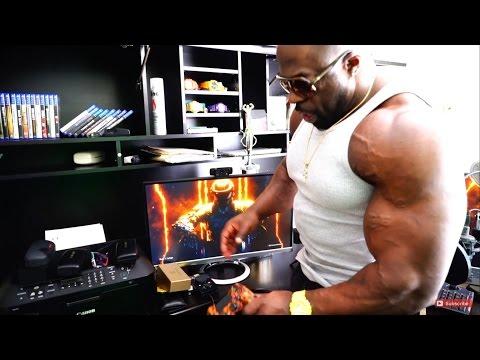 Kali Muscle Gaming Setup & Room Tour BEST SETUP