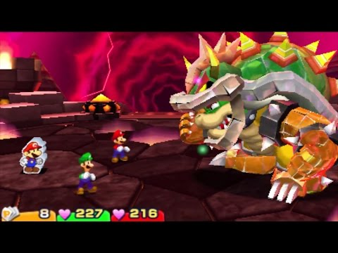 Mario and Luigi Paper Jam All Boss Battles