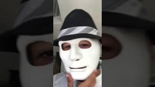 My jabbawockeez mask