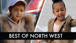 Top 5 Times Kardashian Baby North West Had An Attitude