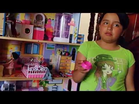 La casa de Barbie de Isabel