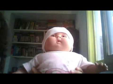 carol minha boneca dançando video engraçadinho