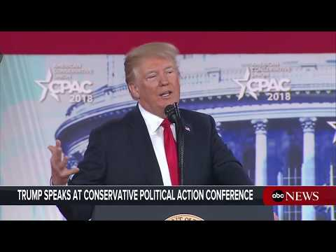Xxx Mp4 President Donald Trump Delivers Remarks At CPAC Conference ABC News 3gp Sex