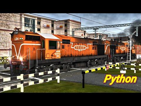 Xxx Mp4 Python Frieght With Four WDM 3A LDH WDM 3A Cab Ride MSTS South Central Railways 3gp Sex
