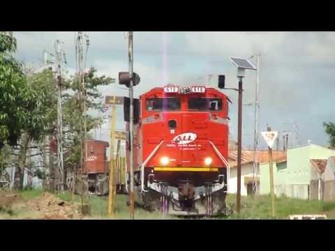 Trem da ALL em Itirapina