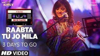 T-Series Mixtape : Tu Jo Mila /Raabta Song  | 3 Days to Go |  Shirley Setia & Jubin Nautiyal