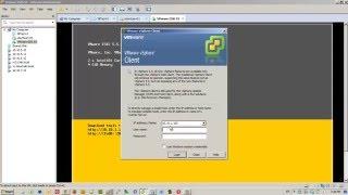 Installation of ESXi 5.5 in VMware Workstation