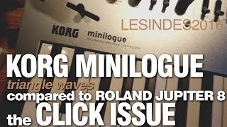 KORG MINILOGUE // the CLICK ISSUE