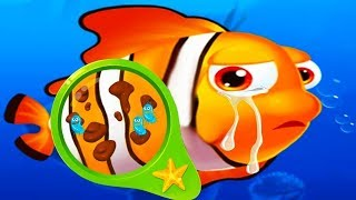 Fun Baby Doctor Kids Games - Baby Learn Care & Help Ocean Animals Games - Ocean Animal Doctor Game