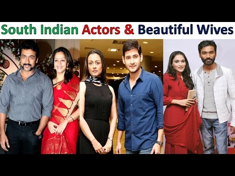 South Indians Actors and Their Beautiful Wives