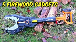 5 Firewood Gadgets put to the Test #2
