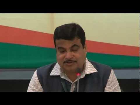 Sh. Nitin Gadkari Speech in Chief Ministers Conclave, August 2012