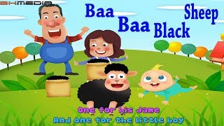 Baa Baa Black Sheep Kids Songs | Nursery Rhymes Collection | Great Songs for Children