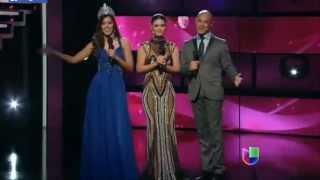 Miss Universo 2014 Paulina Vega en Nuestra Belleza Latina 2015