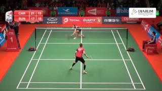 Carolina Marin (Spain) VS Sung Ji Hyun (Korea)