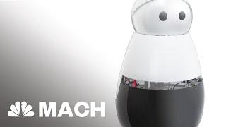 Introducing Kuri, The Home Robot   Mach   NBC News