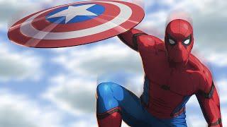 Spiderman Civil War - Speed Paint