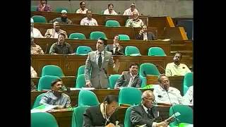 Bangladesh Parliament 2012 - Barrister Andalib Rahman Partho 2nd Parliamentary Speech