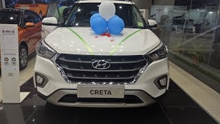 Hyundai creta 2018 facelift Launched   New Sun roof wireless charger I Exterior and Interior 1080  