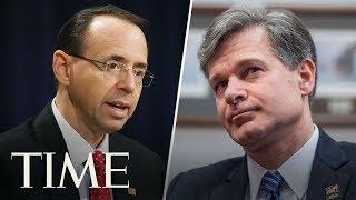 Rosenstein & Wray Testify On Report On DOJ/FBI Handling Of 2016 Election   TIME